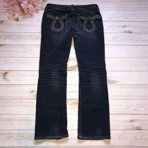Big Star Miki Thick Stitch Flap Pocket Jeans 29S